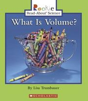 Cover of: What Is Volume?