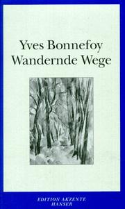 Cover of: Wandernde Wege
