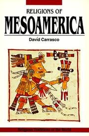 Cover of: Religions of Mesoamerica