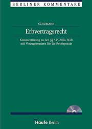 Cover of: Erbvertragsrecht