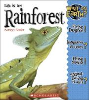 Cover of: Life in the rain forest