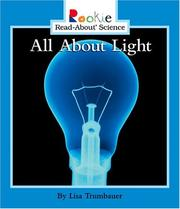 Cover of: All About Light