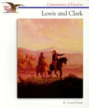 Cover of: Lewis and Clark (Cornerstones of Freedom)