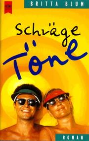 Cover of: Schrage Tone