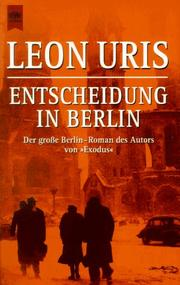 Cover of: Entscheidung in Berlin. Armageddon
