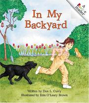 Cover of: In My Backyard
