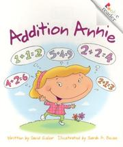 Cover of: Addition Annie (Rookie Readers) | David Gisler
