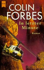 Cover of: In letzter Minute