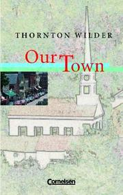 Cover of: Our Town.