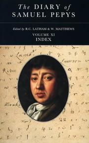 Cover of: The Diary of Samuel Pepys |