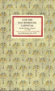 Cover of: Römische Carneval