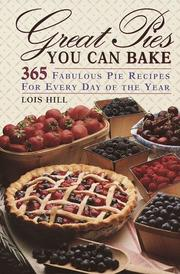 Cover of: Great pies you can bake