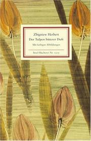 Cover of: Der Tulpen bitterer Duft