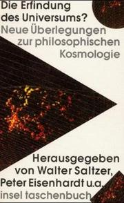 Cover of: Die Erfindung des Universums?
