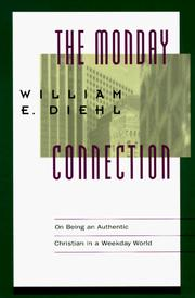 Cover of: Monday Connection, The | William E. Diehl