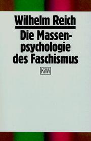 Cover of: Die Massenpsychologie des Faschismus