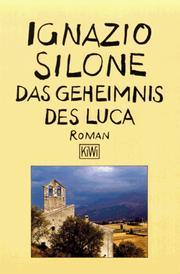 Ignazio silone open library cover of das geheimnis des luca roman fandeluxe Images