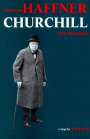 Cover of: Churchill. Eine Biographie