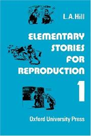 Cover of: Stories for Reproduction 1. Elementary. Serie 1.