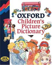 Cover of: Oxford Children's Picture Dictionary. Mit Abb