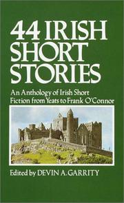 Cover of: 44 Irish Short Stories | Devin A. Garrity