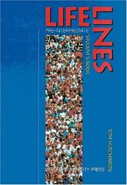 Cover of: Lifelines, Pre-Intermediate, Student's Book