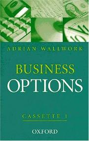 Cover of: Business Options. 1 Class Cassette zum Student's Book