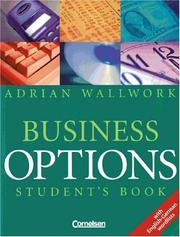 Cover of: Business Options. Student's Book. Neu. Mit englisch - deutscher Wortliste.