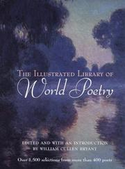 Cover of: The Illustrated Library of World Poetry