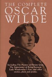 Cover of: The Complete Oscar Wilde