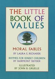 Cover of: The little book of values | edited by Emily Hunt.