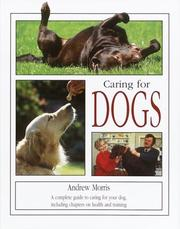 Cover of: Caring for Dogs | Andrew Morris