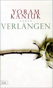 Cover of: Verlangen