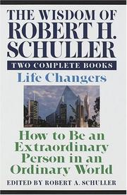 Cover of: The wisdom of Robert H. Schuller