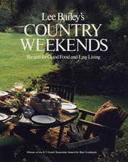 Cover of: Country weekends