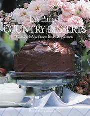 Cover of: Country desserts