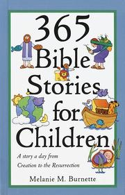 Cover of: 365 Bible Stories for Children