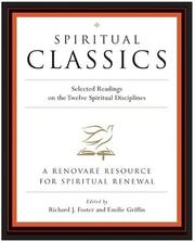 Cover of: Spiritual Classics  | Richard J. Foster