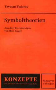 Cover of: Symboltheorien