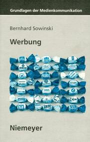 Cover of: Werbung