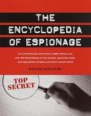 Cover of: The encyclopedia of espionage