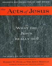 Cover of: The Acts of Jesus | Robert Walter Funk