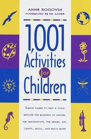 Cover of: 1001 activities for children
