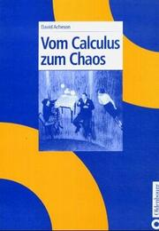 Cover of: Vom Calculus zum Chaos