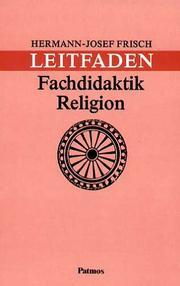 Cover of: Leitfaden Fachdidaktik Religion.