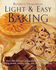 Cover of: Light and Easy Baking
