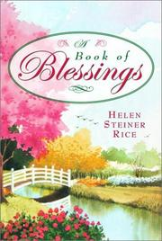 Cover of: A Book of Blessings