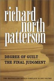 Cover of: Degree of Guilt/The Final Judgement