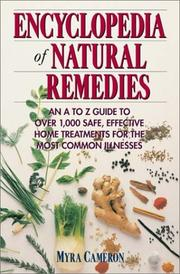 Cover of: Encyclopedia of Natural Remedies