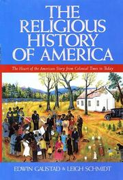 Cover of: The Religious History of America | Edwin S. Gaustad